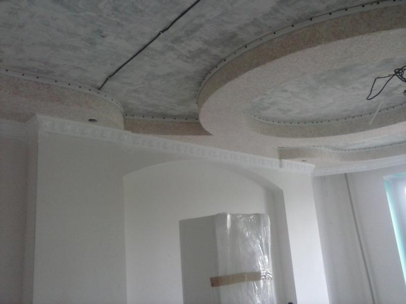 ремонт помещений потолки белгород